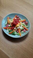 チンゲン菜サラダ